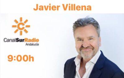 """Javier Villena, domingo 9 agosto, a las 9:00, en Canal Sur Radio """"Días de Andalucía"""" con Domi del Postigo."""